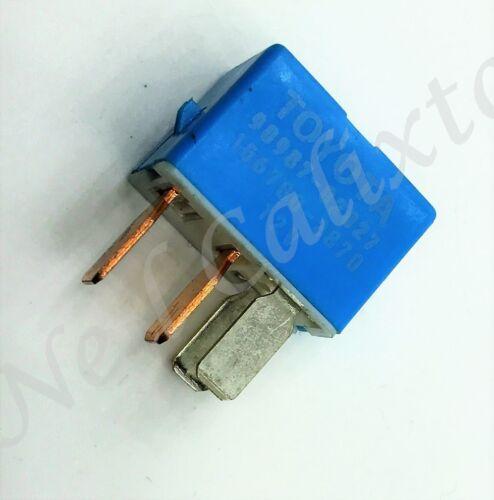 Toyota Lexus 4-Pin Blue A/C Cooling Fan Relay 90987-02027 Denso 156700-2870