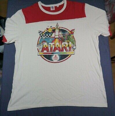 NEW JUNK FOOD - Vintage ATARI Video Games Montage - Mens Graphic T-Shirt Size XL