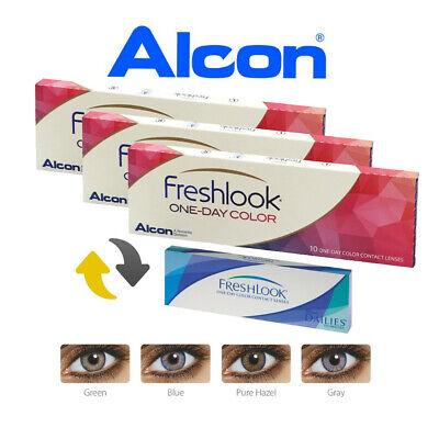 FreshLook One-Day Color - 3x10er-Pack - Farbige Tageslinsen