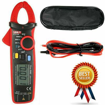 Uni-t Ut210e Digital Clamp Meter Multimeter Handheld Rms Acdc Mini Resistanc