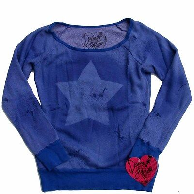 Dirtee Hollywood Kids USA Sweatshirt lila Stern 128 134 140 146 152 158 164 NEU Usa-sweatshirt