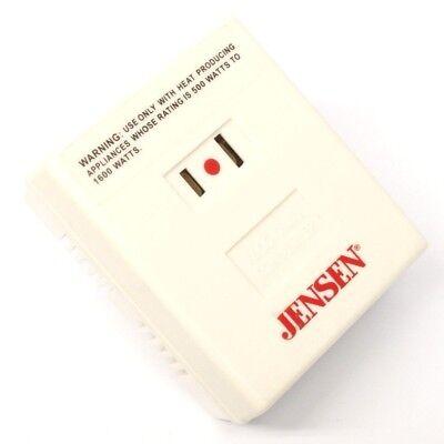 500w Voltage Converter - Jensen Foreign International Voltage Converter 500W to 1600 Watts for Appliances