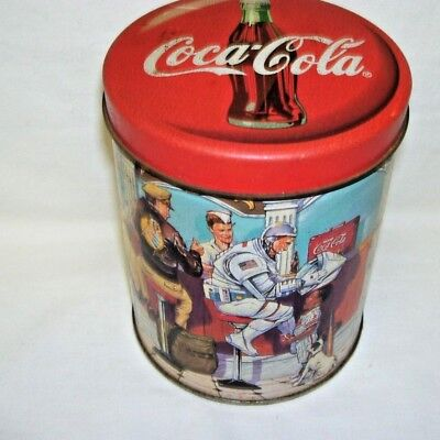 Old Coca-Cola Tin Box Diner Graphics