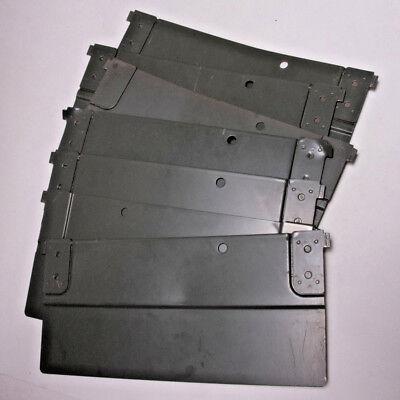 (7) File Drawer Divider - Steel Metal - Letter Size 12