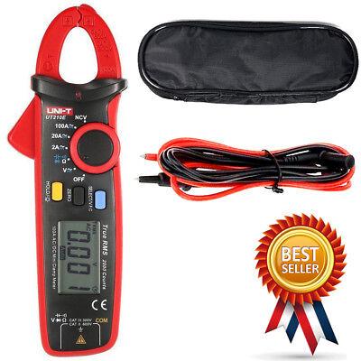 Uni-t Ut210e Digital Clamp Meter Multimeter Handheld Rms Acdc Mini Resistance