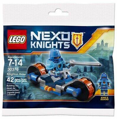 LEGO Nexo Knight 30376 - Knighton Rider Polybag - 42 Pcs - New. Sealed. Retired.