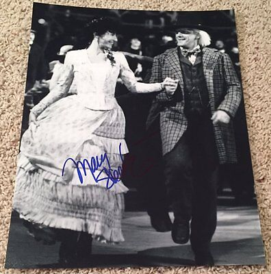Mary Steenburgen Signed Back To The Future Iii 3 11X14 Photo W Exact Video Proof