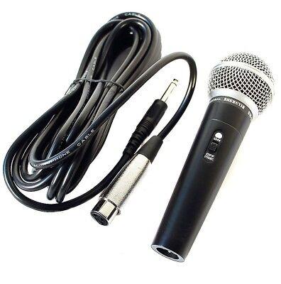 Profi Mikrofon Dynamisches Gesangsmikrofon Studio, 5m Kabel  microphone