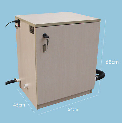 Wooden Dental Vacuum Suction Unit System 1500lmin F Treatment Surgery 3 Chair