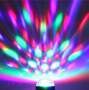 SOUND ACTIVATED Disco Lamp