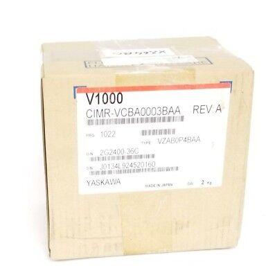 Nib Yaskawa V1000 Inverter Drive Rev A Cimr-vcba0003baa Vzab0p4baa 2g240036c
