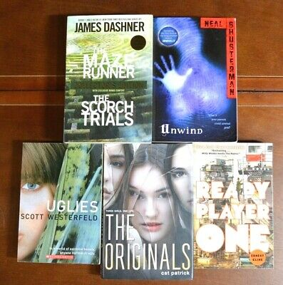 Lot 5 Teen NY Times Bestsellers Young Adult Fiction Books Dystopian Maze T1