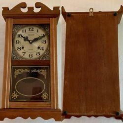 VTG Wall Clock Hesco 31-Day Wind-up Chimes 20' Tall With Key NEVER WOUND NEW!