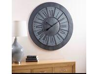 Large Herald Wall Clock