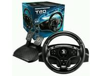T80 ps4 steering wheel. 2 available