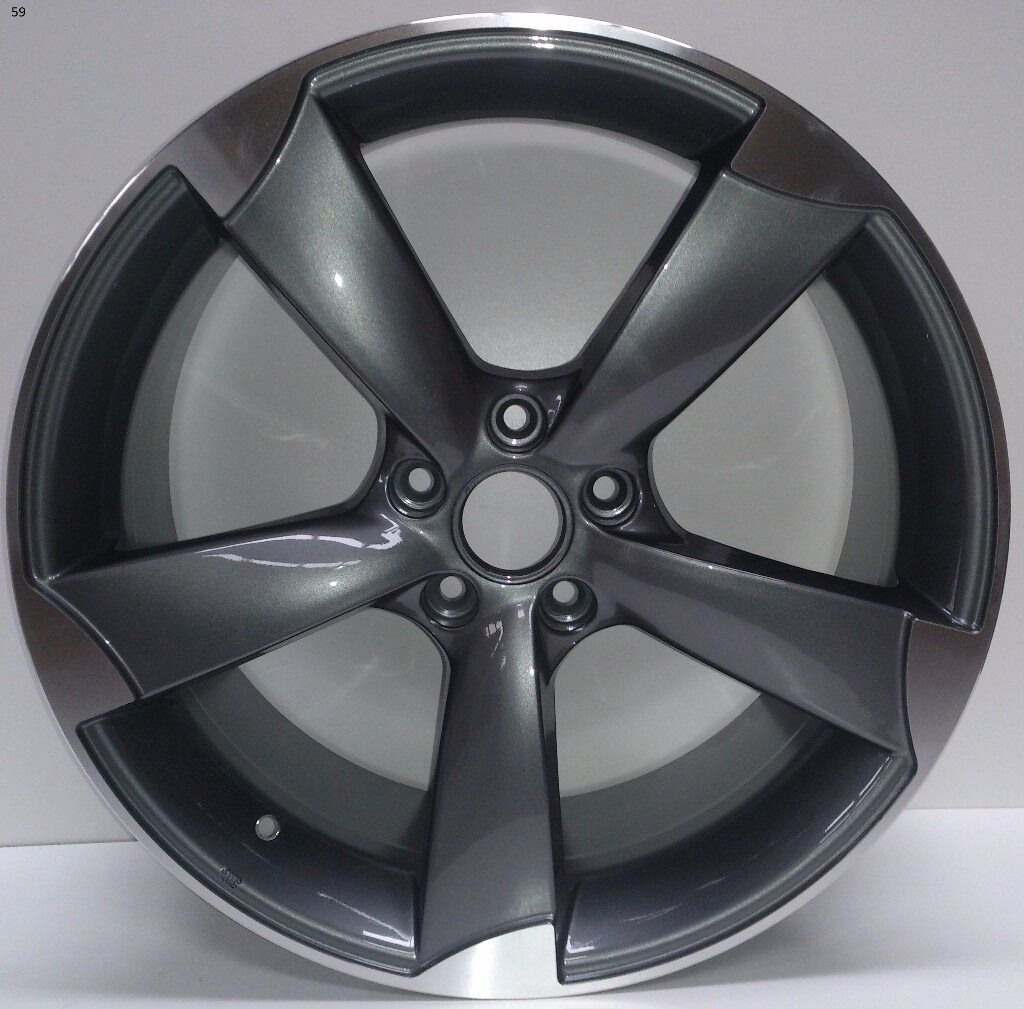 "1x Brand NEW 18"" 19"" AUDI RS3 Rotor Alloy WHEELS SINGLE"