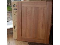 10 B&Q Walnut Shaker Style Westleigh Kitchen cupboard cabinet doors