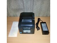 Star TSP650 Thermal Receipt POS Printer with PSU - USB Interface
