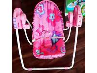 Baby girls swing/play mats