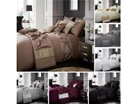 Luxury duvet cover with pillow case