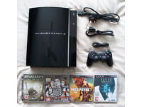 Ps3 Playstation 3 C model, 60 gb backwards compatable with controller and games !!!!