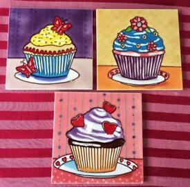 Glazed Cupcake Tiles