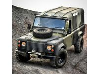 LANDROVER 110 EX MOD 1987 2.5n/a ready for anything