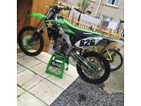 Kawasaki KX250F 2016 for Sale