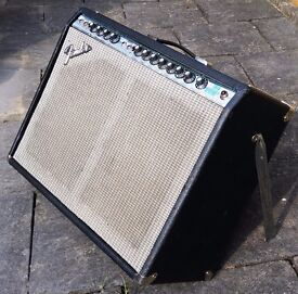 Refurbished 1974 Fender Twin Reverb - a bit battle-scarred, but looking and sounding good!