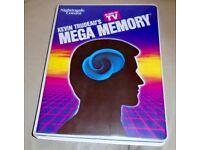 Mega Memory Set of 9 Casette Tapes - Kevin Trudeau