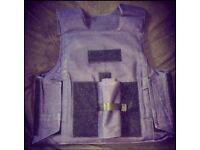 SALE- Press Kevlar L3 Stab & Bullet Proof Ballistic Body Armour Vest RRP £500