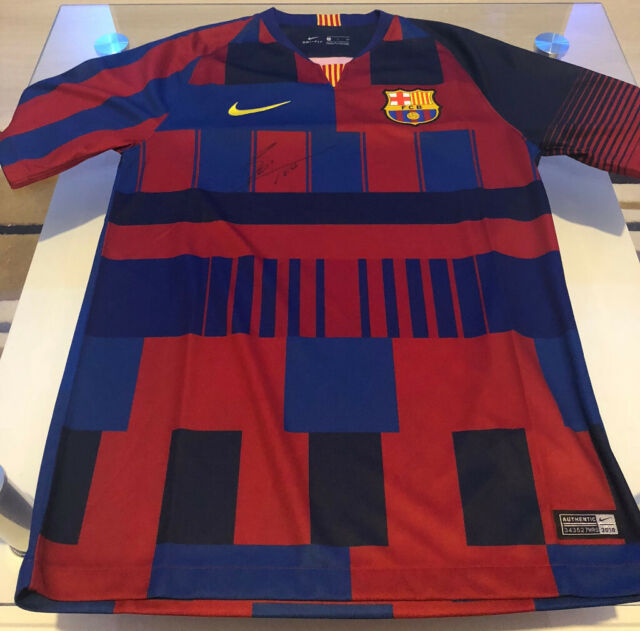 new style ed100 d264e FC Barcelona Shirt Special Edition '20th Anniversary Nike' Signed by Messi  with COA | in Westminster, London | Gumtree