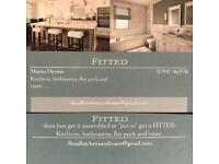 Fitted kitchens, bathrooms and more