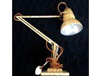 1930's Herbert Terry Rare Anglepoise Model 1227 Scumble Paint Desk lamp Original for sale
