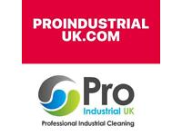 PRO INDUSTRIAL CLEANING ALL CLEANING WORK UNDERTAKEN NO JOB TO BIG OR SMALL