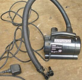 Electric pump for inflating/deflating paddling pools etc