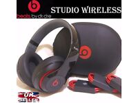 DR Dre Beats, Beats By Dre Studio Wireless, Black And Red