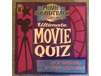 Movie Soundtrack 'Ultimate Movie Quiz' CD Game (2006)