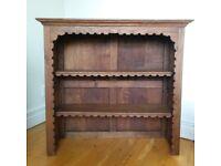 Antique Small Oak Bookcase