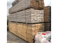 🦋 3.9M WOODEN/ TIMBER SCAFFOLD STYLE BOARDS > NEW