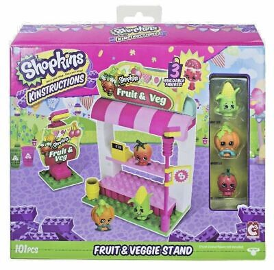 ons Shopping Pack Fruit And Veg Stand Building Set (Shopkins Shopping)