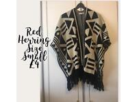 Red herring festival poncho
