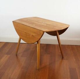 ERCOL leaf table
