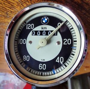 Tacho, Tachometer Nachbau Replika für BMW R24, R25, R25/2 W:1,05 mit 19