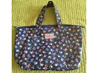 Cath Kidston Navy Floral Handbag