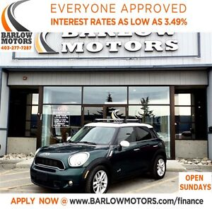 2011 MINI Cooper S Countryman AUTO*EVERYONE APPROVED* APPLY NOW