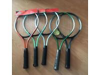 Kids tennis rackets - New - £3 each