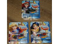 3 HotWheels Character Cars (DC Super Hero Girls)