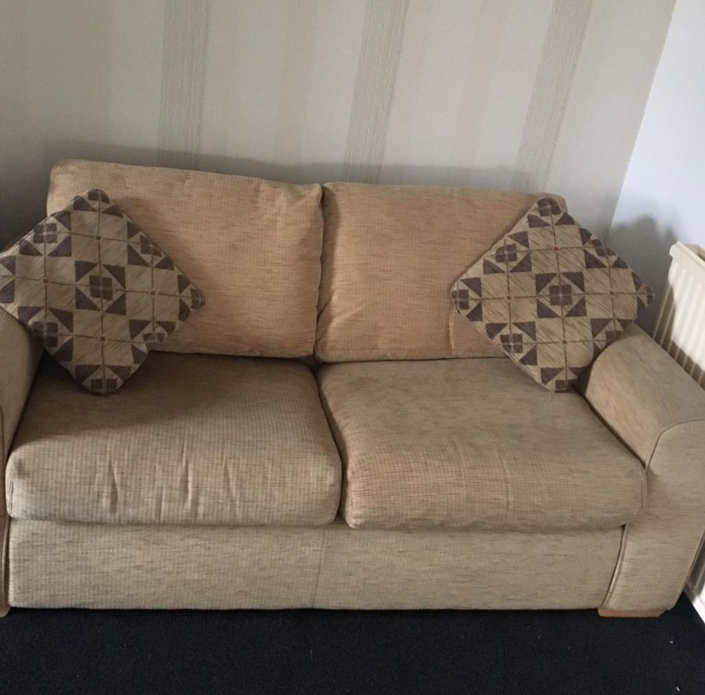 Terrific Sofa Bed With Sprung Base Very Comfy In Bathgate West Lothian Gumtree Gmtry Best Dining Table And Chair Ideas Images Gmtryco