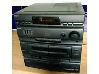 Retro Sony Midi Hi-Fi System